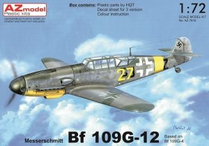 AZ Model AZ7616 Bf 109G-12 1/72