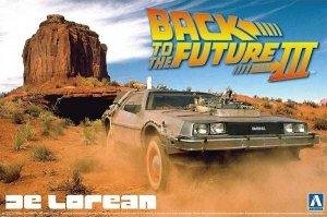Aoshima 05918 Back to the Future III DeLorean 1/24