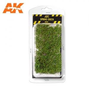 AK Interactive AK 8167 SPRING GREEN SHRUBBERIES 75MM / 90MM 1/35