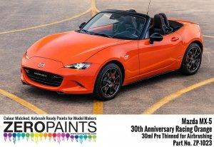 Zero Paints 1023-Racingorange Anniversary Racing Orange 30ML