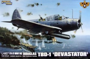 Great Wall Hobby L4807 VT-8 AT Midway 1942 Douglas TBD-1 Devastator 1/48
