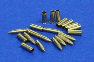 RB Model 48P02 7.5cm KwK 37 & StuK 37 L/24 3 x pocisk przeciwpancerny 3 x pocisk kumulacyjnyl 3 x pociks odłamkowy, 12 x łusek PzKpfw IV (ausf. A, C, D, E, F) & PzKpfW III (ausf. N) & SdKfz. 233 & SdKfz. 234/3 Stummel (1:48)