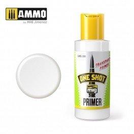 AMMO of Mig Jimenez A.MIG 2041 ONE SHOT PRIMER TRANSPARENT 60ML
