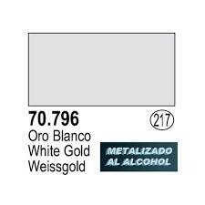 Vallejo 70796 White Gold metals in alcohol 35ml