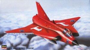 Hasegawa BP101 (51461) J-35F Draken `Red Dragon 1/72