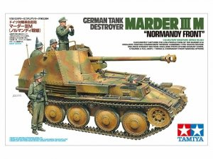 Tamiya 35364 German Tank Destroyer Marder III M Normandy Front 1/35