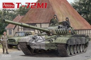 Amusing Hobby 35A038 T-72M1 with Full Interior 1/35