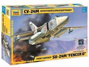 "Zvezda 7267 Sukhoi SU-24M ""Fencer-D"" 1/72"