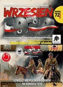 First to Fight PL072 Dowództwo polskich ułanów na koniach 1939 1/72