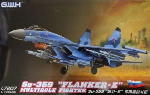 Great Wall Hobby L7207 Su-35S Flanker-E Multirole Fighter 1/72