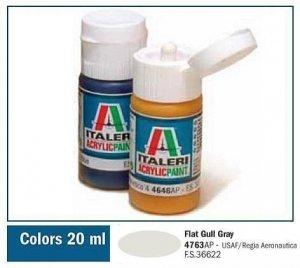 Italeri 4763 FLAT GULL GRAY 20ml