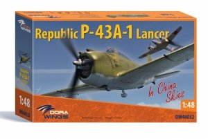 Dora Wings 48032 Republic P-43A-1 Lancer In China Skies 1/48