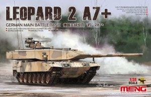 Meng Model TS-042 German Main Battle Tank Leopard 2 A7+ 1/35