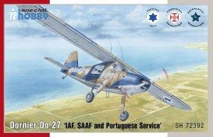 Special Hobby 72392 Dornier Do 27 IDF, SAAF and Portuguese Service 1/72