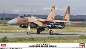 Hasegawa 02354 F-15DJ Eagle `Aggressor Desert Scheme 1/72