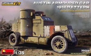 Miniart 39009 AUSTIN ARMOURED CAR 1918 PATTERN. BRITISH SERVICE. WESTERN FRONT. INTERIOR KIT 1/35