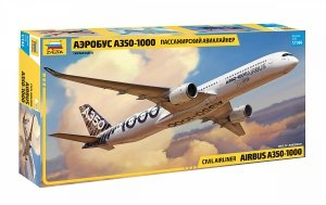 Zvezda 7020 Airbus A350-1000 1/144
