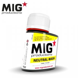 Mig Productions P222 NEUTRAL WASH (75ML)