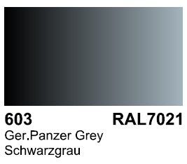 Vallejo 70603 Surface German Panzer Grey RAL 7021 17ml.