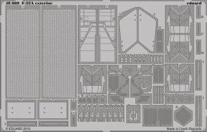 Eduard 48669 F-22A exterior 1/48 Hasegawa