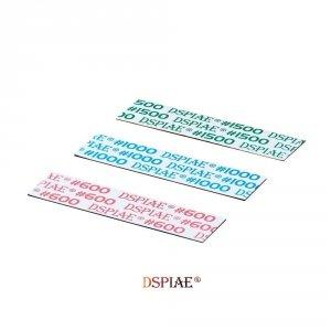 DSPIAE WSP-MA600 #600 DIE-CUTTING ADHESIVE SANDPAPER / Samoprzylepny papier ścierny