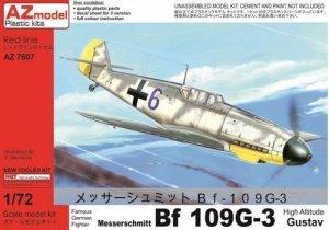 AZmodel AZ7607 Bf-109G-3 High Altitude Gustav 1/72