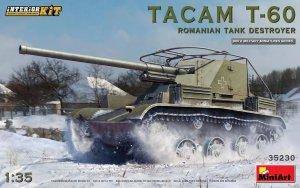 MiniArt 35230 TACAM T-60 ROMANIAN TANK DESTROYER. INTERIOR KIT 1/35