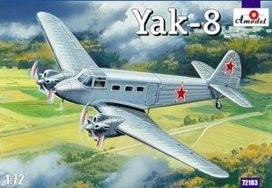 A-Model 72183 Yakovlev Yak-8 Soviet Passenger aircraft 1:72