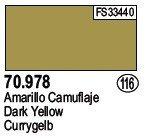 Vallejo 70978 Dark Yellow (116)