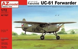 AZ-Model AZ7527 Fairchild UC-61 Forwarder 1/72
