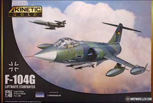 Kinetic K48083 F-104G Starfighter Luftwaffe 1/48