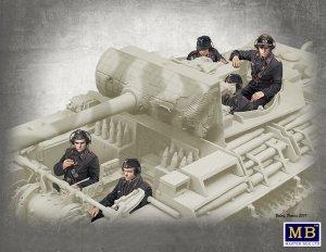 Master Box 35201 German Tank Crew, 1944-1945 1/35