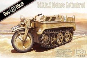 Das Werk DW35020 Sd.Kfz.2 kleines Kettenkraftrad 1/35