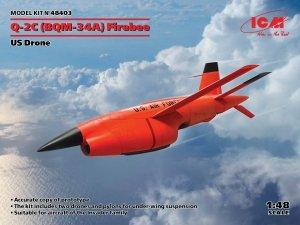ICM 48403 BQM-34А (Q-2C) Firebee US Drone 1/48