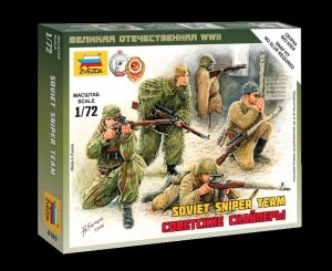 Zvezda 6193 Soviet Snipers 1/72