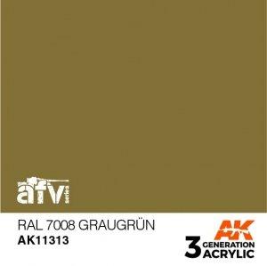 AK-Interactive AK 11313 RAL 7008 GRAUGRÜN 17ml