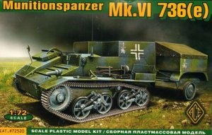 ACE 72520 Ammo carrier on Mk.VI 736(e) chassie (1:72)