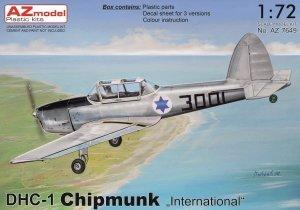 "AZ Model AZ7649 DHC-1 Chipmunk ""International"" 1/72"