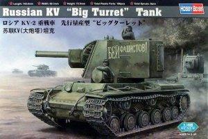 Hobby Boss 84815 Russia KV-1 Big Turret Tank (1:48)