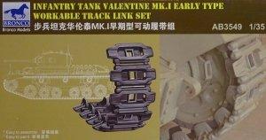 Bronco AB3549 Valentine Mk. I Early Version Workable Track Set 1/35