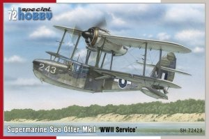 Special Hobby 72429 Supermarine Sea Otter Mk.I 'WWII Service' 1/72