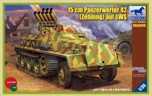 Bronco CB35070 15cm Panzerwerfer 42 (Zehnling) auf sWS (1:35)