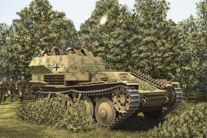 Hobby Boss 80140 German 2cm Flak 38 Pz.Kpfw .38 (t) (1:35)