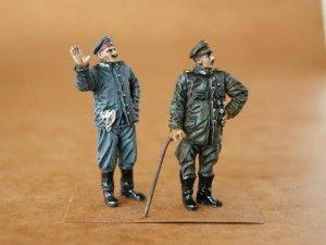 CMK F48026 German Pilot+Mechanic WW I (2 figures) 1/48