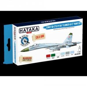 Hataka HTK-BS104 Early Su-27S/P/UB Flanker-B/C paint set (6x17ml)