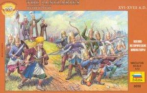 Zvezda 8050 Turkish Janissaries 1/72