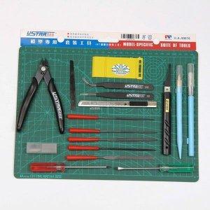 U-Star UA-90076 Modeling Tool Set 18in1 (zestaw narzędzi)