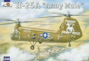 A-Model 72147 Piasecki H-25A Army Mule US Army Helicopter 1:72