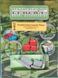 Eureka XXL E-057 Radiomagnetofony kasetowe 2 szt.   1/35