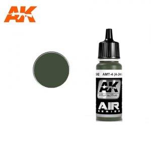 AK Interactive AK 2242 AMT-4 (A-24M) GREEN 17ml